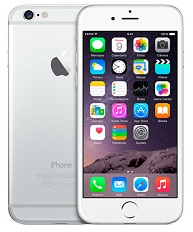 TELEFONO APPLE iPHONE 6 - 16 GB PLATA