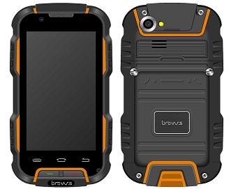 Bravus Nuevo Gorila V9H smartphone todoterreno(BRVV9H) con chasis de magnesio mucho mas ligero
