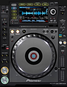 DJ PIONEER CDJ-2000 MIC II NEXUS