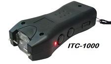 TASER CON LINTERNA Y BATERIA RECARGABLE ITC-1000