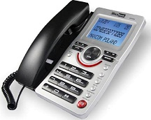 TELEFONO PARA CASA CON NUMEROS GRANDES MAXCOM KXT-809