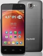 SMARTPHONE MYMOBI MM450 PANTALLA IPS DE 4,5 PULGADAS CON FUNDA A MEDIDA INCLUIDA