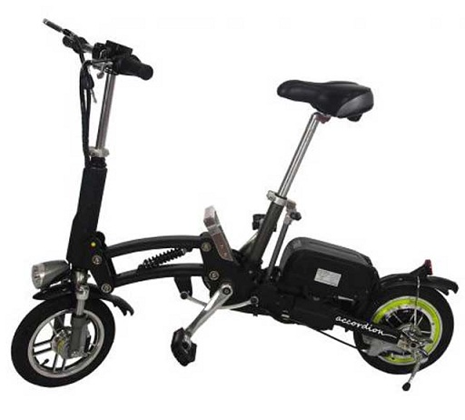 BICICLETA BRAVUS ELECTRIC ACCORDION  BIKE