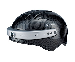 AIRWHEEL C5 TALLA XL NEGRO CASCO DE CARBONO CON CÁMARA 2K INTEGRADA, WIFI Y BLUETOOTH  SKU: +94058