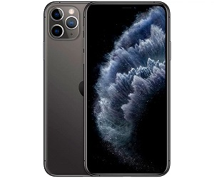APPLE IPHONE 11 PRO MAX GRIS ESPACIAL MÓVIL DUAL SIM 4G 6.5 SUPER RETINA XDR CPU A13  SKU: +21299
