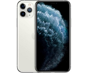APPLE IPHONE 11 PRO MAX PLATA MÓVIL DUAL SIM 4G 6.5 SUPER RETINA XDR CPU A13/512GB  SKU: +21915