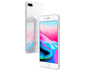 APPLE IPHONE 8 PLUS 256GB PLATA REACONDICIONADO CPO MÓVIL 4G 5.5 RETINA FHD/6CORE  SKU: +21363