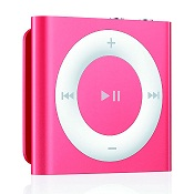 APPLE IPOD SHUFFLE DE QUINTA GENERACIÓN REPRODUCTOR DE MP3 2 GB ROSA