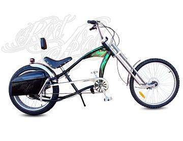 Bicicleta eléctrica Chopper RedZepellin