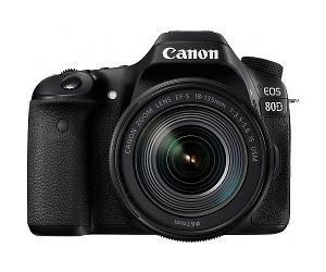 CANON EOS 80D + EF-S18-55mm  - Canon 80D + EF-S 18-55 IS STM - Cámara digital (24.2MP CMOS 6000 x 4000 Pixeles, Auto, Nublado, Modos personalizados, Luz de día, Flash, Fluorescente, Sombra, Tungsteno, Película, Imagen única, Batería, Juego de cámara SLR), color negro
