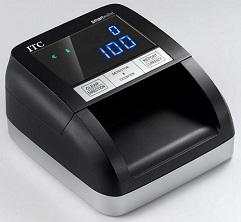 Detector de billetes falsos  ITC Smartwallet  - bateria recargable,ideal para usarlo en cualquier parte ya sea dentro o fuera del comercio,gasolineras,etc. -actualizable  -facil apertura para limpieza de cabezales -certificado por el banco central europeo RECONOCE EL NUEVO BILLETE DE 20€ y DE 50€