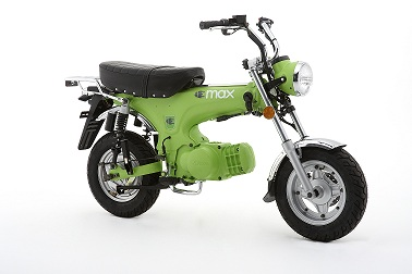 MOTO ELECTRICA EMAX FLAT GREEN