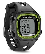 GARMIN FORERUNNER 15 RELOJ DE CARRERA CON GPS NEGRO/VERDE