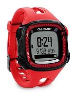 GARMIN FORERUNNER 15 RELOJ DE CARRERA CON GPS ROJO/NEGRO