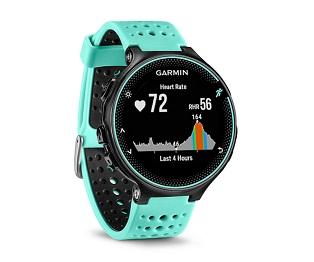 GARMIN FORERUNNER 235 NEGRO/AZUL RELOJ RUNNING CON GPS Y MEDIDOR DE PULSACIONES  SKU: +92073