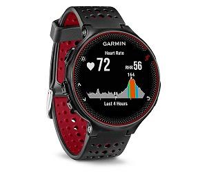 GARMIN FORERUNNER 235 NEGRO/ROJO RELOJ RUNNING CON GPS Y MEDIDOR DE PULSACIONES  SKU: +92101