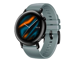 HUAWEI WATCH GT 2 CLASSIC EDITION AZUL CYAN 42MM SMARTWATCH TÁCTIL AMOLED 1.39 GPS  SKU: +22246