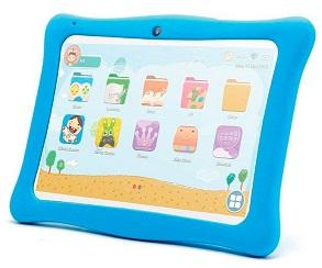INNJOO KIDS TAB BLANCA TABLET WIFI 10 IPS PROTECTOR AZUL TFT QUADCORE 16GB 1GB RAM  SKU: +22023