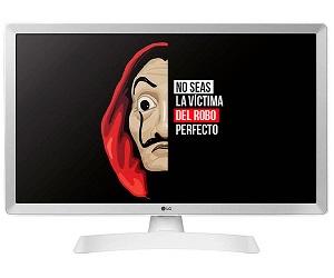 LG 24TL510S-WZ BLANCO TELEVISOR MONITOR 24 LCD LED HD SMART TV HDMI USB 8ms LAN WIFI  SKU: +21332