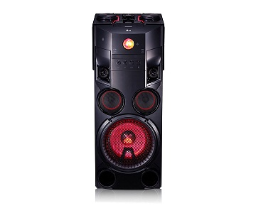 LG OM7560 TORRE DE ALTAVOCES 1000W CON BLUETOOTH, REPRODUCTOR CD Y USB  SKU: +92883
