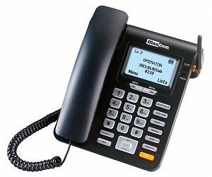 MAXCOM MM28D TELÉFONO SOBREMESA + SIM CARD GSM  SKU: +91904