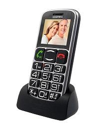 MAXCOM TELÉFONO MÓVIL 1.8 / MM462 NEGRO