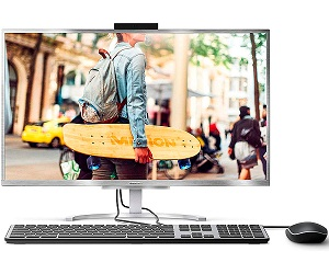 MEDION E23401 PLATA PC ALL-IN-ONE 23.8 LCD IPS FHD i3-7020U/SSD128GB/8GB RAM/W10HOME  SKU: +21672