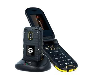 MYPHONE HAMMER BOW+ NEGRO AMARILLO MÓVIL RESISTENTE IP68 3G DUAL SIM 2.4 CÁMARA  SKU: +97556