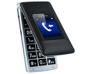 MYPHONE TANGO 3G NEGRO PLATA MÓVIL SENIOR DUAL SIM 2.4 CÁMARA 2MP BLUETOOTH MICROSD  SKU: +95843