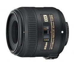 Nikkor AF-S 40mm f/2,8G DX Micro