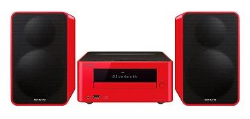 ONKYO CS-265 ROJO MICROCADENA CON CD, BLUETOOTH Y NFC DE 40W  SKU: +91894