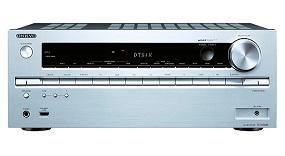 ONKYO RECEPTOR A/V PLATA TX-NR646 7.2 CANALES CON BLUETOOTH Y WIFI  SKU: +91955
