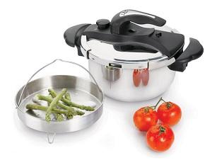 JATA OPRP4 OLLA RÁPIDA A PRESIÓN  - 4L. PARA INDUCCION         - Se puede usar en cocina de gas Se puede usar en cocina de inducción Se puede usar en cocina eléctrica Se puede usar en lavavajillas