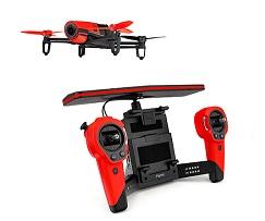 PARROT BEBOP DRONE + SKYCONTROLLER ROJO - PARROT BEBOP DRONE + SKYCONTROLLER ROJO ¿Qué destacamos del PARROT BEBOP DRONE + SKYCONTROLLER ROJO?  .Mando Skycontroller incluido .Para uso interior y exterior .Control por app en smartphone o tablet .Cámara de 14 megapíxeles, vídeo Full HD .Conexión por WiFi, GPS+GLONASS .Hasta 22 minutos de autonomía