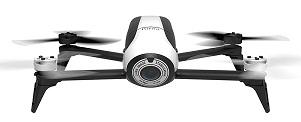 PARROT BEBOP 2 DRON CUADRICÓPTERO CONTROLABLE POR APP BLANCO+014535 - PARROT BEBOP 2 DRON CUADRICÓPTERO CONTROLABLE POR APP BLANCO  ¿Qué destacamos del PARROT BEBOP 2 DRON CUADRICÓPTERO CONTROLABLE POR APP BLANCO?  .Cuadricóptero ultraligero .Controlable con app Freeflight 3 (iOS y Android) .Cámara de 14 MP, vídeo Full HD .Hasta 25 minutos de autonomía .8 GB de memoria interna .Hasta 300 metros de alcance con WiFi