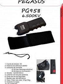 PEGASUS PG958 6500KV EL TASER MAS VENDIDO EN ESPAÑA