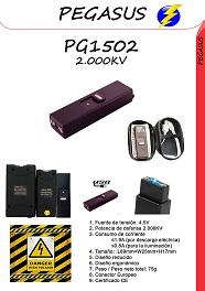 Un taser de mano pequeño con linterna incluida PG1502-2000KV