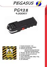 Compra un buen taser potente, el PG928 de 9.000KV