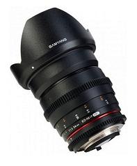 SAMYANG 24mm T1.5 ED AS IF UMC VDSLR