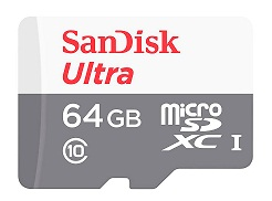 SANDISK MICRO SDXC CLASE 10 UHS-I 64 GB 48 MBPS +91266