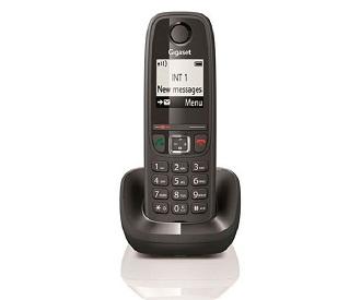 SIEMENS GIGASET AS405 NEGRO TELÉFONO FIJO INALÁMBRICO  SKU: +94164