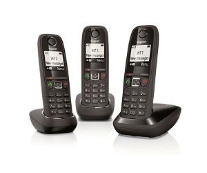 SIEMENS GIGASET AS405 TRIO TELÉFONO FIJO INALÁMBRICO  SKU: +94167