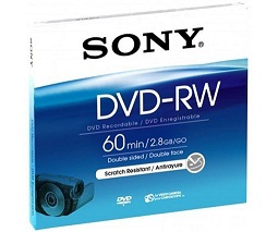 SONY DMW60 DVD 8 CM VIDEOCAMARA REGRABABLE
