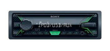 SONY DSXA202UI VERDE RECEPTOR MULTIMEDIA PARA EL COCHE USB 4 x 55W  SKU: +92218