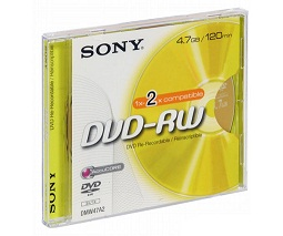 SONY DVD-RW (4,7 GB)