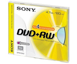 SONY DVD+RW (4,7GB)