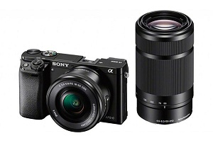 SONY ILCE6000YB + SEL-P 16-50 + SEL 55-210