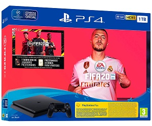 SONY PLAYSTATION 4 SLIM 1TB PACK FIFA 2020  SKU: +21256