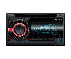 SONY WX800UI RECEPTOR DE CD PARA COCHE 55W CON USB, AUX Y ILUMINACIÓN VARIABLE  SKU: +92685