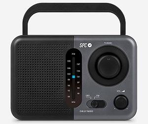 SPC 4574N GRIS RADIO CHILLY AM/FM PORTÁTIL 0.8W A PILAS CON ASA REDONDEADA  SKU: +20804